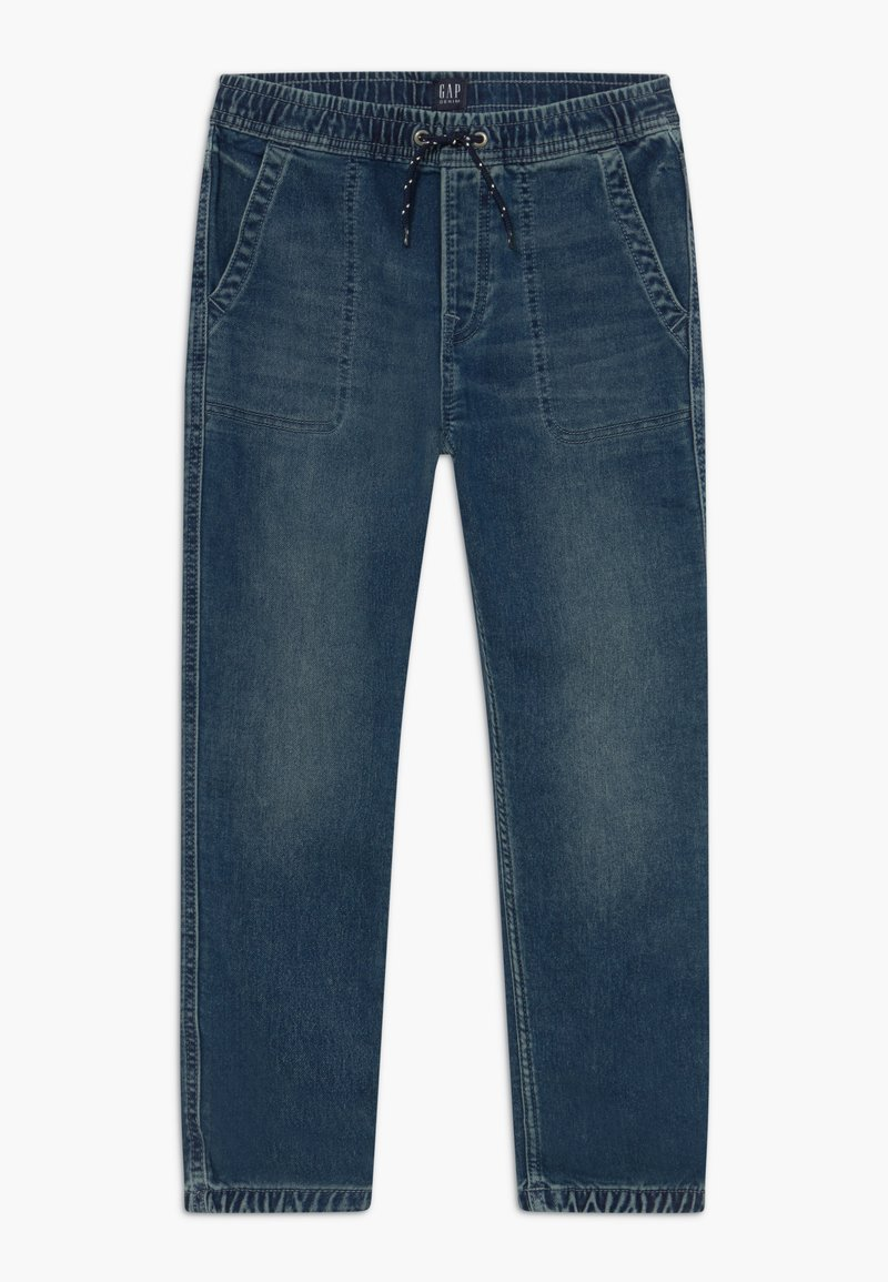 GAP - BOY  - Relaxed fit jeans - blue denim