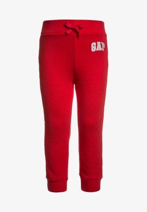 TODDLER BOY LOGO - Trousers - red wagon