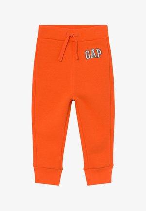 TODDLER BOY LOGO - Pantalones - sport orange