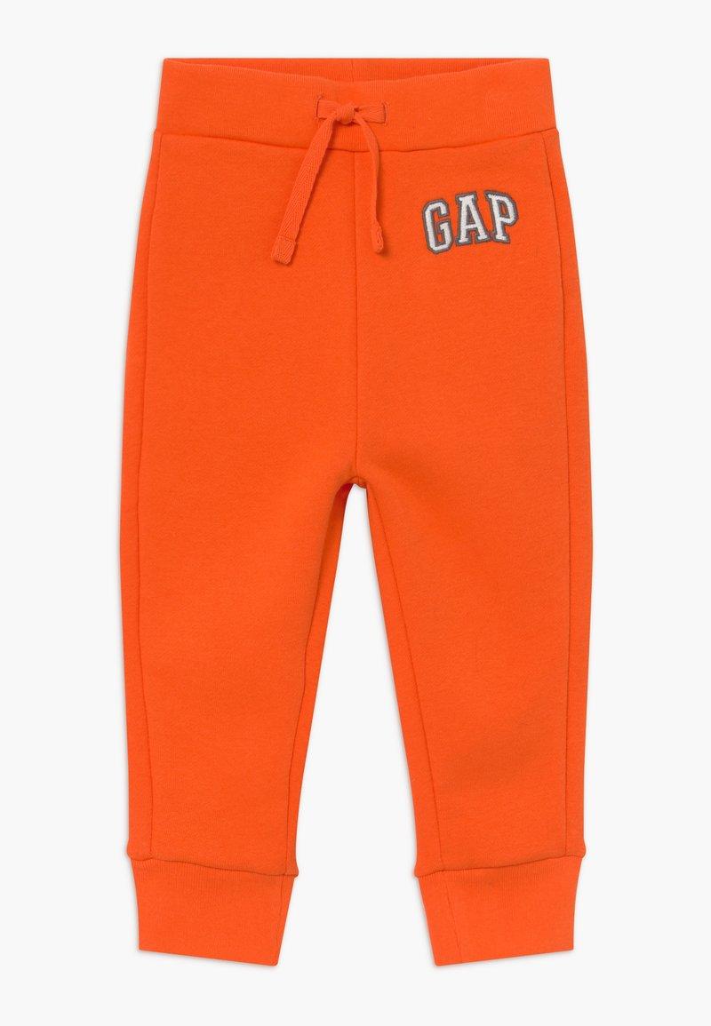 GAP - TODDLER BOY LOGO - Trousers - sport orange