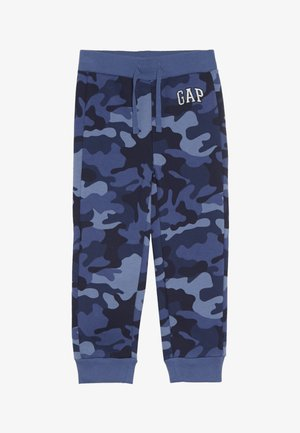 TODDLER BOY LOGO - Trousers - blue lapis