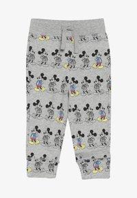 GAP - MICKEY MOUSE TODDLER BOY PANT - Spodnie materiałowe - light grey heather - 2