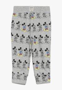 GAP - MICKEY MOUSE TODDLER BOY PANT - Spodnie materiałowe - light grey heather - 1