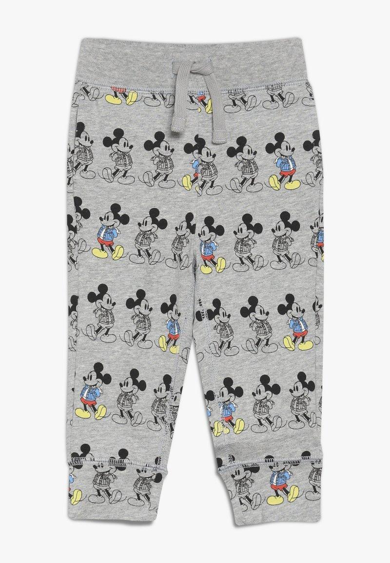 GAP - MICKEY MOUSE TODDLER BOY PANT - Spodnie materiałowe - light grey heather