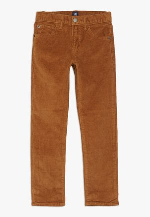 BOY - Trousers - deep camel