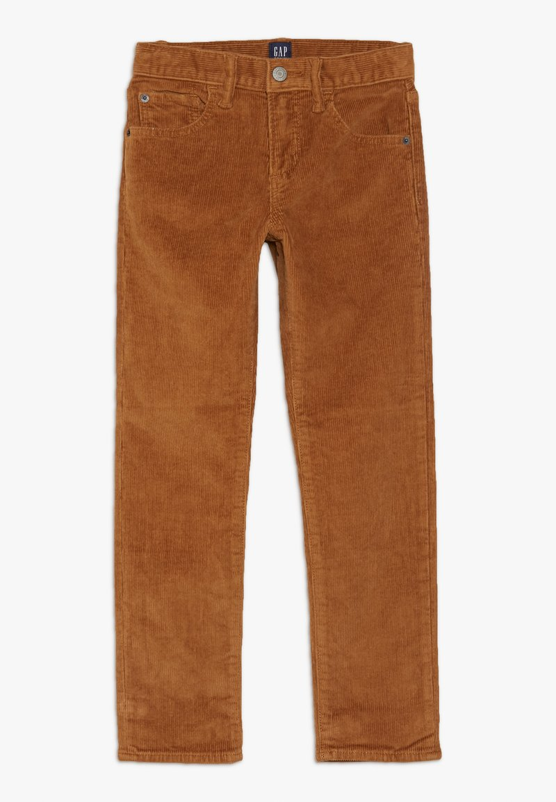 GAP - BOY - Spodnie materiałowe - deep camel
