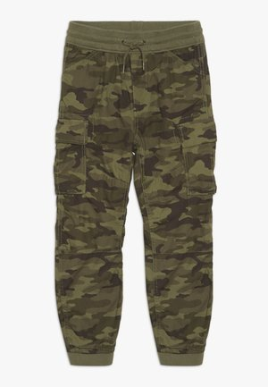 BOY CARGO - Cargo trousers - green