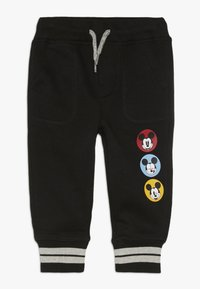 GAP - MICKEY MOUSE TODDLER BOY - Teplákové kalhoty - black - 0