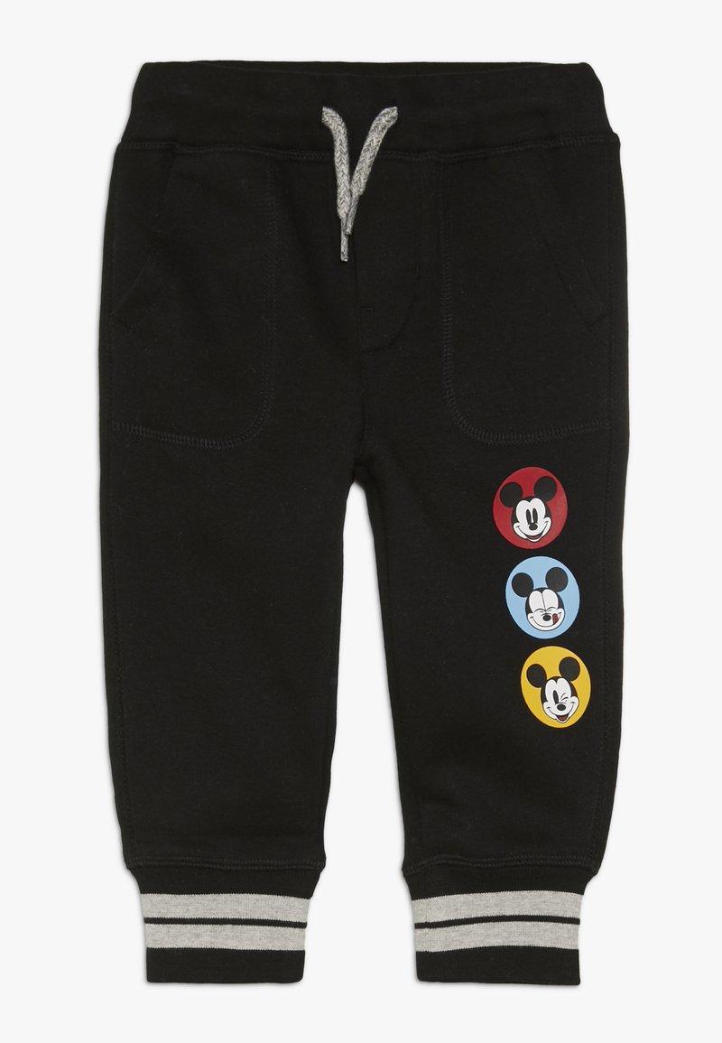 GAP - MICKEY MOUSE TODDLER BOY - Teplákové kalhoty - black
