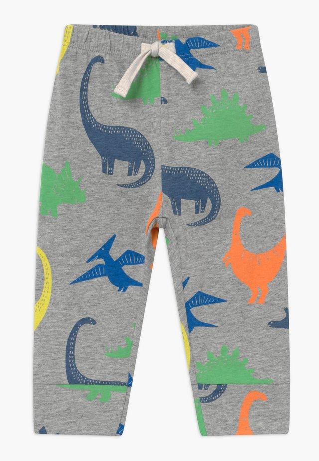 Trousers - light heather grey