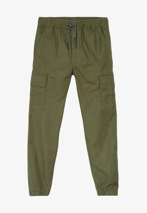 BOY  - Pantalones cargo - army green
