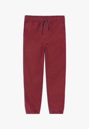 BOY EVERYDAY  - Spodnie materiałowe - red