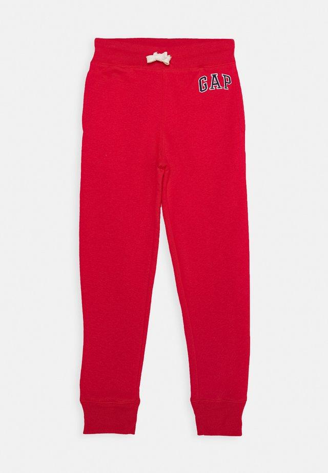 BOYS HERITAGE LOGO - Pantaloni sportivi - pure red