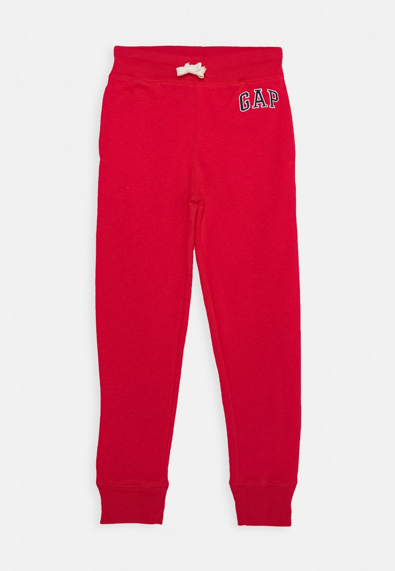 GAP - BOYS HERITAGE LOGO - Tracksuit bottoms - pure red