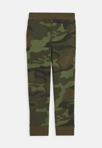 GAP - BOYS HERITAGE LOGO - Tracksuit bottoms - green - 1
