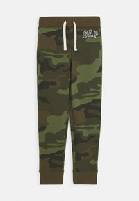GAP - BOYS HERITAGE LOGO - Tracksuit bottoms - green - 0