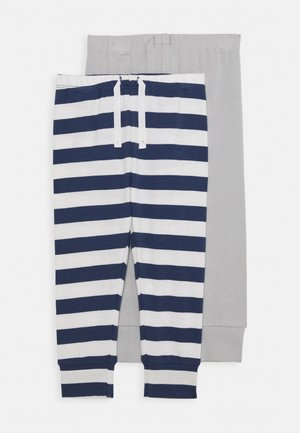 WHALE 2 PACK - Stoffhose - blue