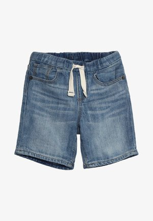 BABY - Szorty jeansowe - light wash indigo