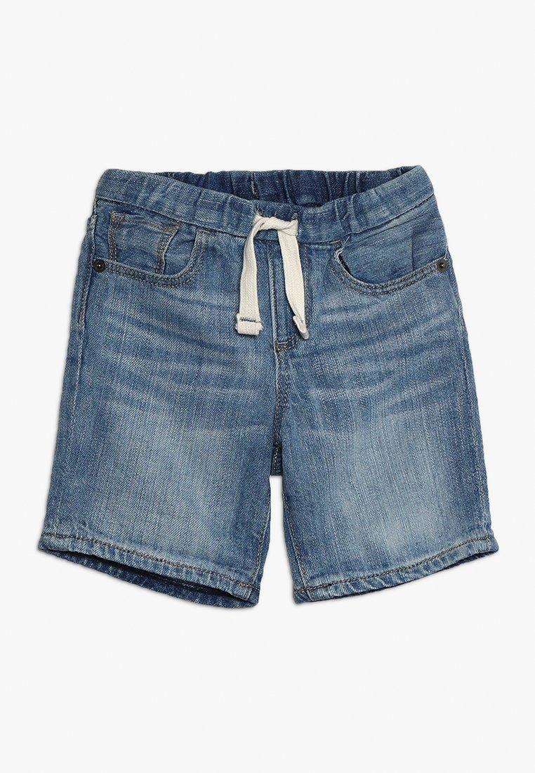 GAP - BABY - Shorts vaqueros - light wash indigo