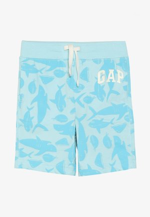 TODDLER BOY LOGO - Kraťasy - dockside blue