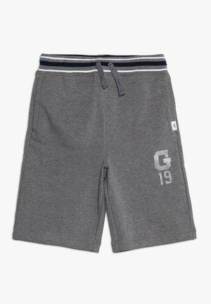 BOYS ACTIVE LOGO  - Joggebukse - dark heather grey
