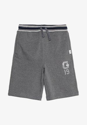 BOYS ACTIVE LOGO  - Teplákové kalhoty - dark heather grey