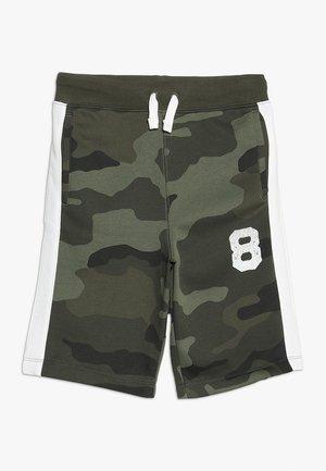 BOYS ACTIVE LOGO  - Teplákové kalhoty - green
