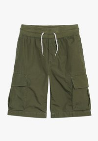 GAP - BOYS - Cargobukse - army jacket green - 0