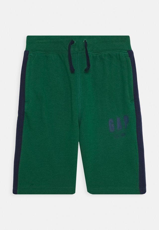 BOYS LOGO  - Pantaloni sportivi - president green