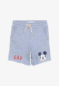 GAP - TODDLER BOY MICKEY  - Teplákové kalhoty - blue heather - 4