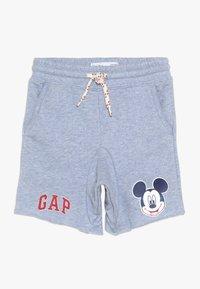 GAP - TODDLER BOY MICKEY  - Teplákové kalhoty - blue heather - 0