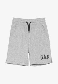 GAP - TODDLER BOY LOGO - Teplákové kalhoty - light grey heather - 2