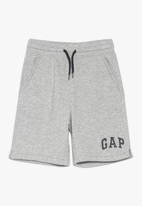 GAP - TODDLER BOY LOGO - Teplákové kalhoty - light grey heather - 0