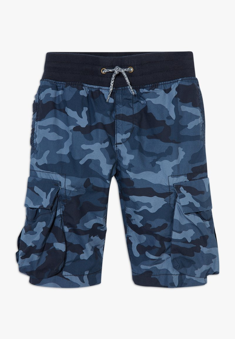 GAP - BOY  - Cargo trousers - blue