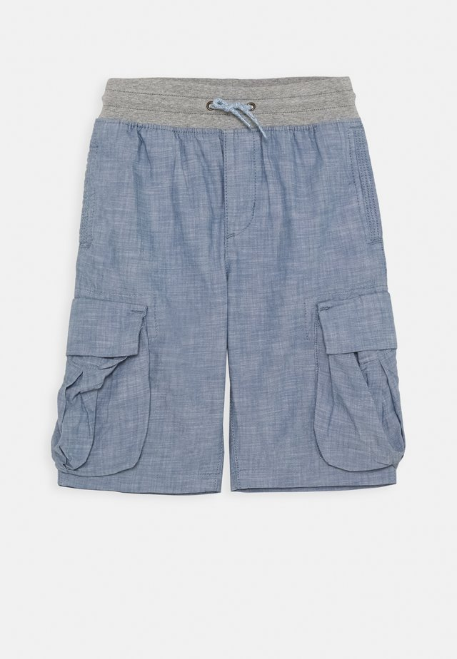 BOY  - Pantalon cargo - blue chambray