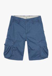 GAP - BOY - Cargo trousers - blue shade - 0