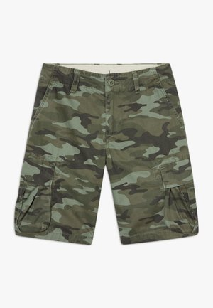 BOY - Pantalon cargo - green camo