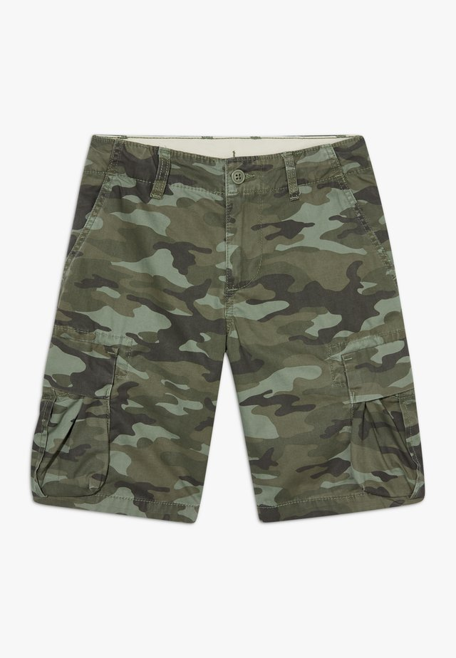 BOY - Cargohose - green camo