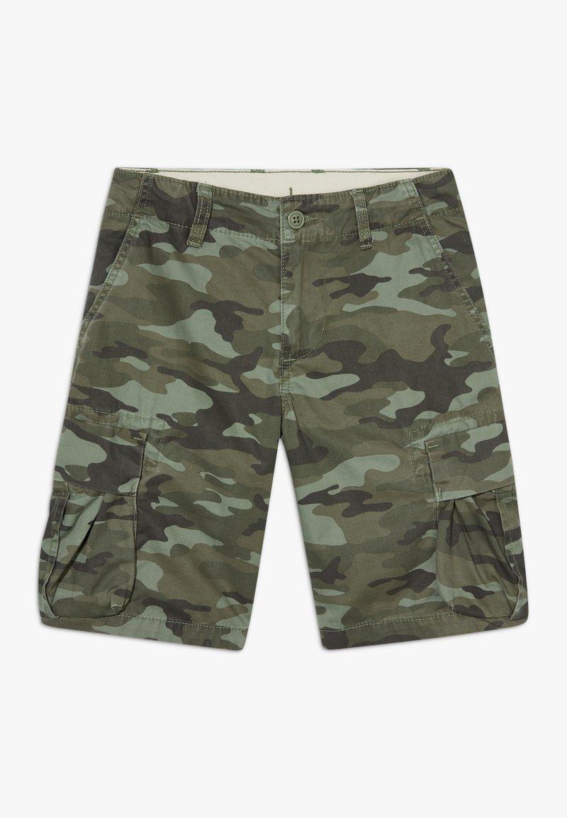 GAP - BOY - Cargo trousers - green camo
