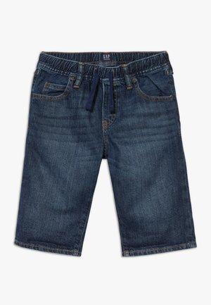BOY - Short en jean - dark blue denim
