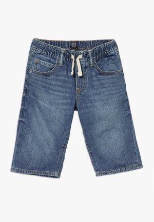 BOY  - Džínové kraťasy - blue denim