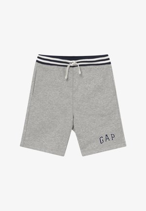 BOY V-LOGO - Tracksuit bottoms - light heather grey