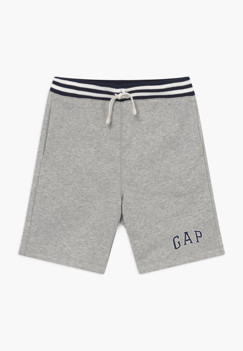 GAP - BOY V-LOGO - Pantalon de survêtement - light heather grey