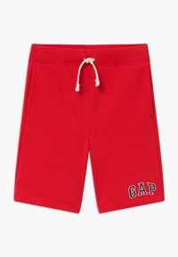 GAP - BOY V-LOGO - Pantaloni sportivi - pure red - 0
