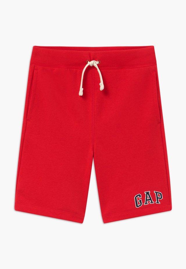 BOY V-LOGO - Pantaloni sportivi - pure red