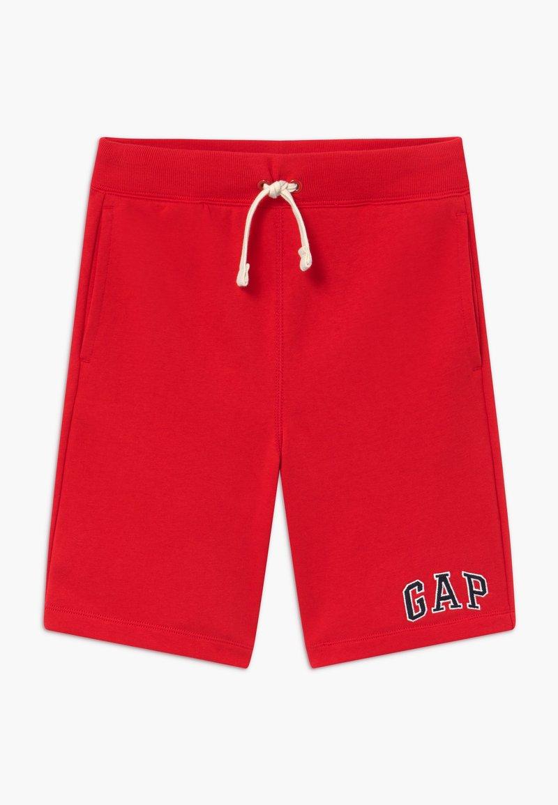 GAP - BOY V-LOGO - Pantaloni sportivi - pure red