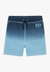 GAP - TODDLER BOY DIP DYE LOGO  - Shorts - blue - 0