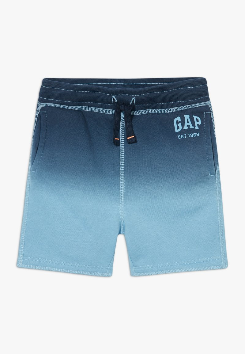 GAP - TODDLER BOY DIP DYE LOGO  - Shorts - blue