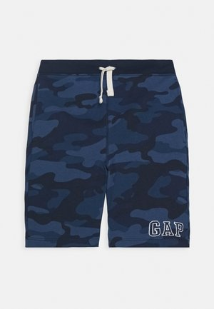 BOY LOGO - Tracksuit bottoms - blue