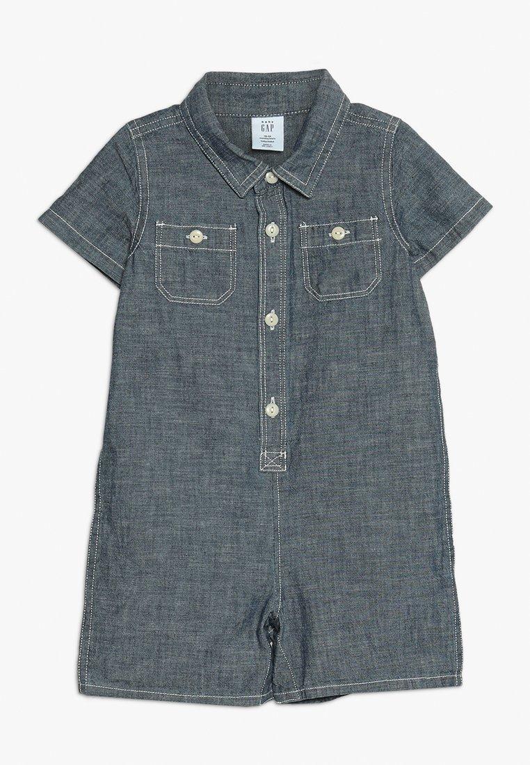 GAP - SHORTY BABY - Jumpsuit - blue/white
